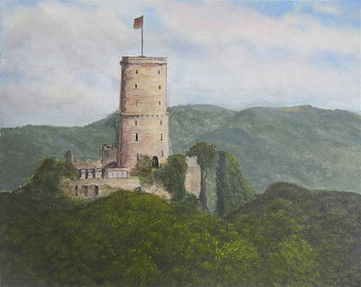 Painting - Godesburg Castle by Heather Matthews