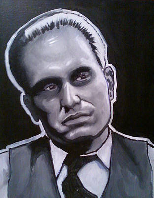 Tom Hagen Painting - Godfather Painting - Tom Hagen by Sam Miller