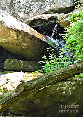 Photograph - Goforth Falls Upper Level by Carol  Bradley