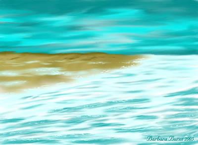 Digital Art - Going Ashore by Barbara Burns