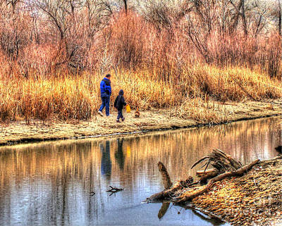 Photograph - Going For A Walk Hdr by Morgan Wright