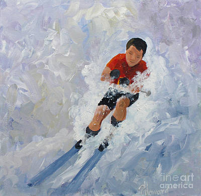 Painting - Going For It by Phyllis Howard