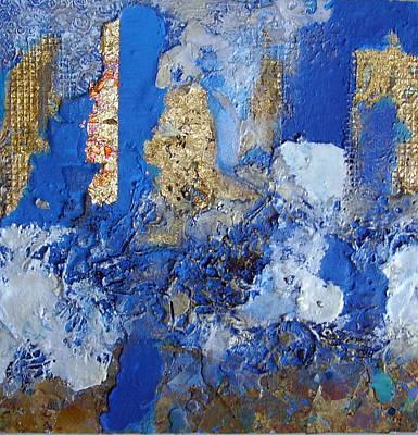 Demolition Mixed Media - Going Going Gone by Lynda Stevens
