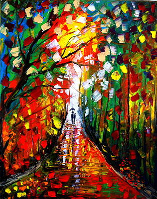 Artist Singh Painting - Going Into The Light  by Artist Singh