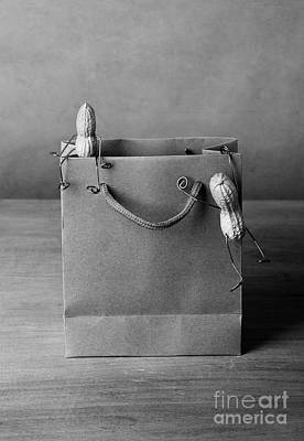 Paper Bags Photograph - Going Shopping 01 by Nailia Schwarz