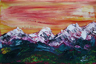Painting - Going To Banff by James Bryron Love