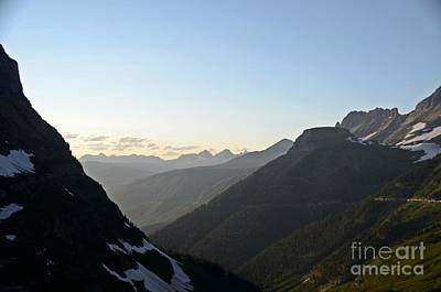 Photograph - Going To The Sun Road by Cassie Marie Photography
