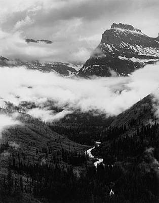 Going To The Sun Road Original by Scott Shaver