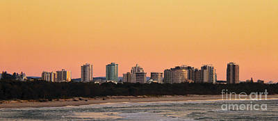 Photograph - Gold Coast Sunrise by Odille Esmonde-Morgan