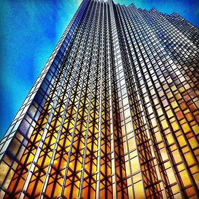 Architectureporn Photograph - Gold Fade by Christopher Campbell
