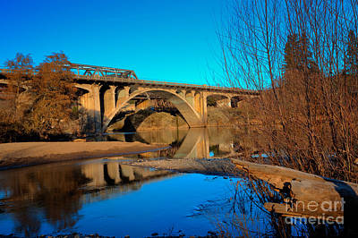Photograph - Gold Hill Bridges by Jim Adams