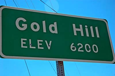 Photograph - Gold Hill by LeeAnn McLaneGoetz McLaneGoetzStudioLLCcom