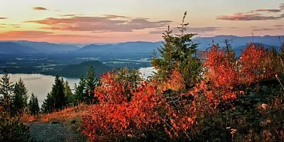 Photograph - Gold Hill Sunset by Albert Seger