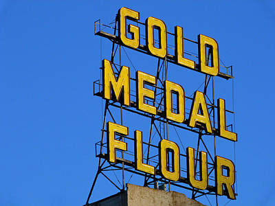 Holmberg Photograph - Gold Medal Flour by Norm Holmberg