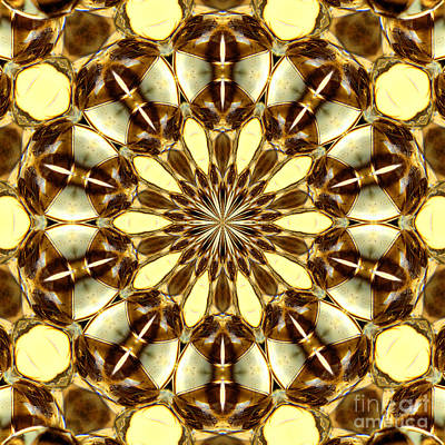 Susan M. Smith Photograph - Gold Medallion 2 by Susan Smith