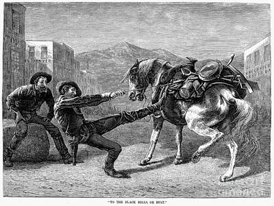 Gold Prospectors, 1876 Art Print by Granger