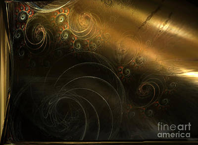 Light Touch Digital Art - Golden Age by Jan Willem Van Swigchem
