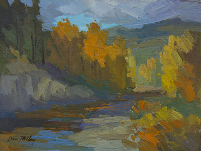 Painting - Golden Autumn by Diane McClary
