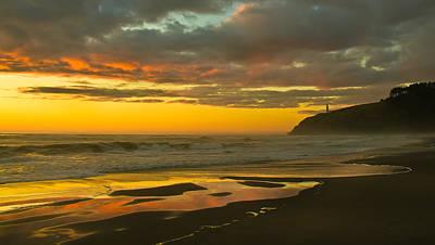 Photograph - Golden Beach by Robert Bales