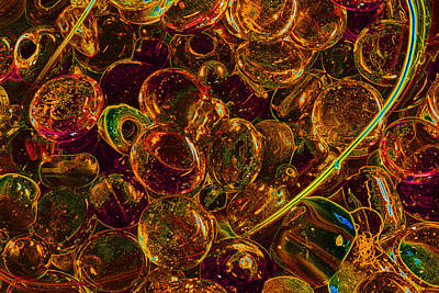 Photograph - Golden Bubbles by Barbara  White
