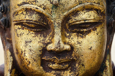 Photograph - Golden Buddha No.2 by Margaret Pitcher