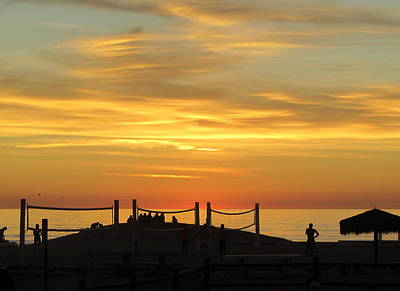 Photograph - Golden Coast Sunset by Margaret Pitcher