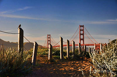 Photograph - Golden Gate Bridge - 2 by Mark Madere