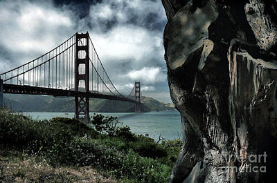Photograph - Golden Gate Bridge - 4 by Mark Madere