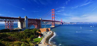 Golden Gate Bridge 1. Art Print by Laszlo Rekasi
