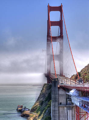 Photograph - Golden Gate Bridge by Anthony Citro
