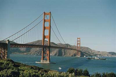 Golden Gate Bridge As Seen Print by J. Baylor Roberts