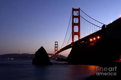 Photograph - Golden Gate Bridge by Bob Christopher