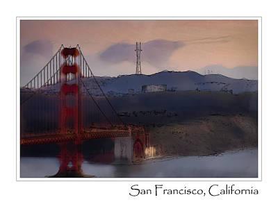 Golden Gate Bridge Photograph - Golden Gate Bridge by Brandon Bourdages