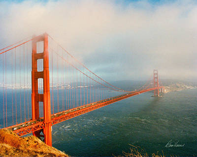 Photograph - Golden Gate Bridge by Diana Haronis