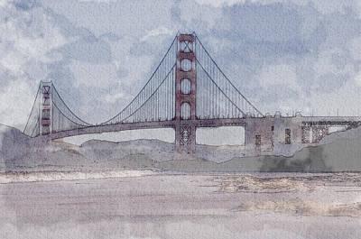 Golden Gate Bridge Photograph - Golden Gate Bridge From Baker Beach by Brandon Bourdages