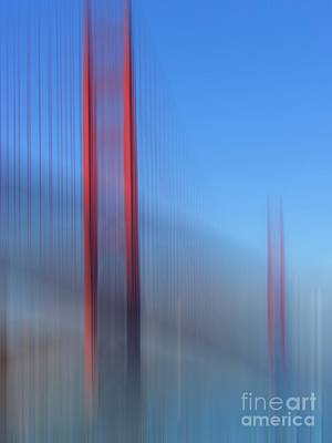 Kujo Photograph - Golden Gate Bridge In Motion by Karin Ubeleis-Jones