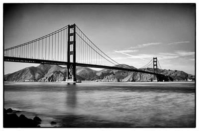 Golden Gate Bridge Art Print by Tanya Harrison