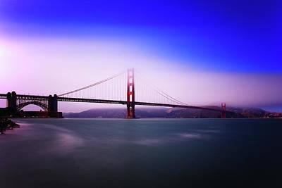 Photograph - Golden Gate Fog by Rick Berk