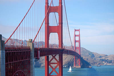 Photograph - Golden Gate  by Holly Blunkall