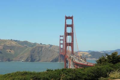 Golden Gate Art Print by Wendi Curtis
