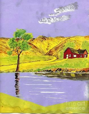 Golden Getaway Art Print