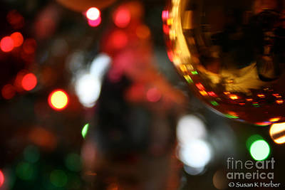 Photograph - Golden Globe by Susan Herber