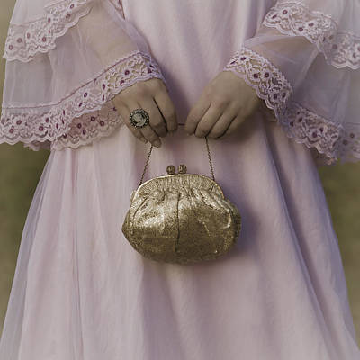 Jewelry Bag Photograph - Golden Handbag by Joana Kruse