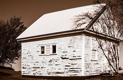 Photograph - Golden Hill School 1860 - 1958 by Edward Peterson