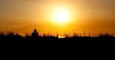 Keewaydin Island Photograph - Golden Margarita Sunset by Christine Stonebridge