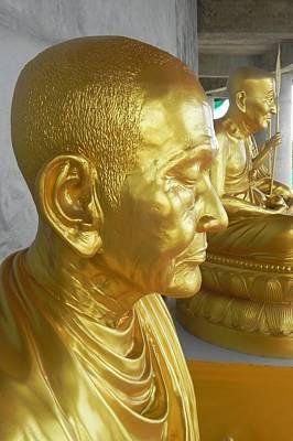 Golden Monk Art Print by Jarrod Faranda