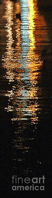 Photograph - Golden Reflection by Mary Attard
