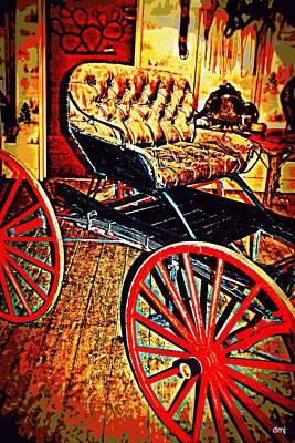 Photograph - Golden Ride by Diane montana Jansson