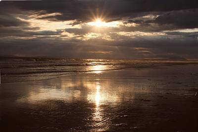 Photograph - Golden Seaset by Ed Lukas