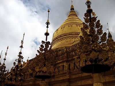 Gautama Photograph - Golden Shwezigon Pagoda by RicardMN Photography